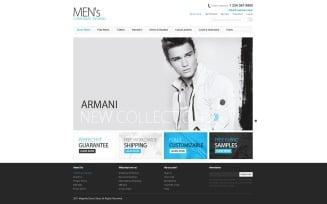 Men's Fashion Magento Theme
