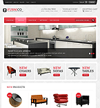 Furniture VirtueMart  Template 41703