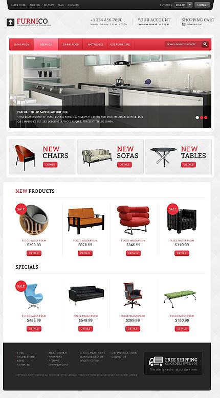 ADOBE Photoshop Template 41703 Home Page Screenshot