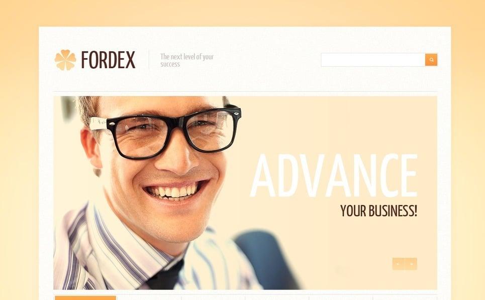 Responsywny szablon strony www #41708 na temat: doradca finansowy New Screenshots BIG