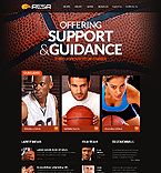 Sport Website  Template 41709