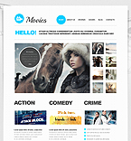 Entertainment Joomla  Template 41723