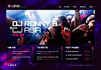 Night Club Moto CMS HTML  Template 41735