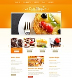 Food & Drink Moto CMS HTML  Template 41737