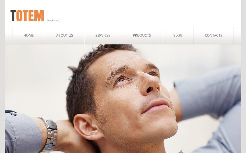 Template Moto CMS HTML para Sites de Business & Services №41747 New Screenshots BIG