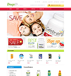 Medical OpenCart  Template 41751
