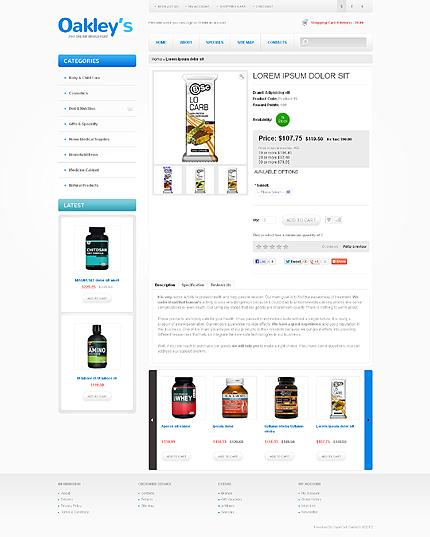 ADOBE Photoshop Template 41752 Home Page Screenshot