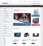 Electronics OpenCart  Template 41753