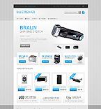 Electronics OpenCart  Template 41754