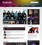 Music PSD  Template 41768