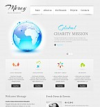 Charity Flash CMS  Template 41776