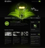 Flash CMS  Template 41778