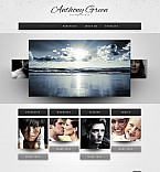 Art & Photography Flash CMS  Template 41780
