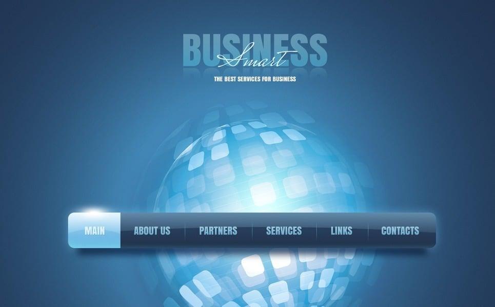 Premium Flash CMS Template over Business & Diensten New Screenshots BIG
