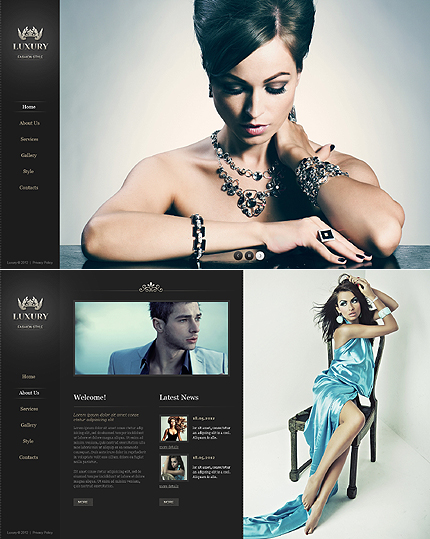 ADOBE Photoshop Template 41785 Home Page Screenshot
