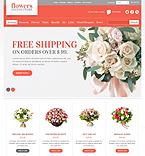 Flowers PrestaShop Template 41796