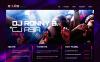Moto CMS HTML Vorlage für Nachtclub  New Screenshots BIG