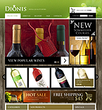 Food & Drink VirtueMart  Template 41802