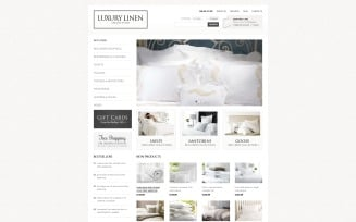 Luxury Linen VirtueMart Template