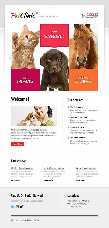 ADOBE Photoshop Template 41828 Home Page Screenshot
