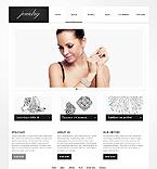 Jewelry Website  Template 41831