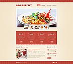 Cafe & Restaurant Website  Template 41833