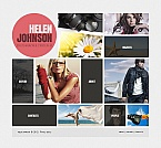 Art & Photography Moto CMS HTML  Template 41848