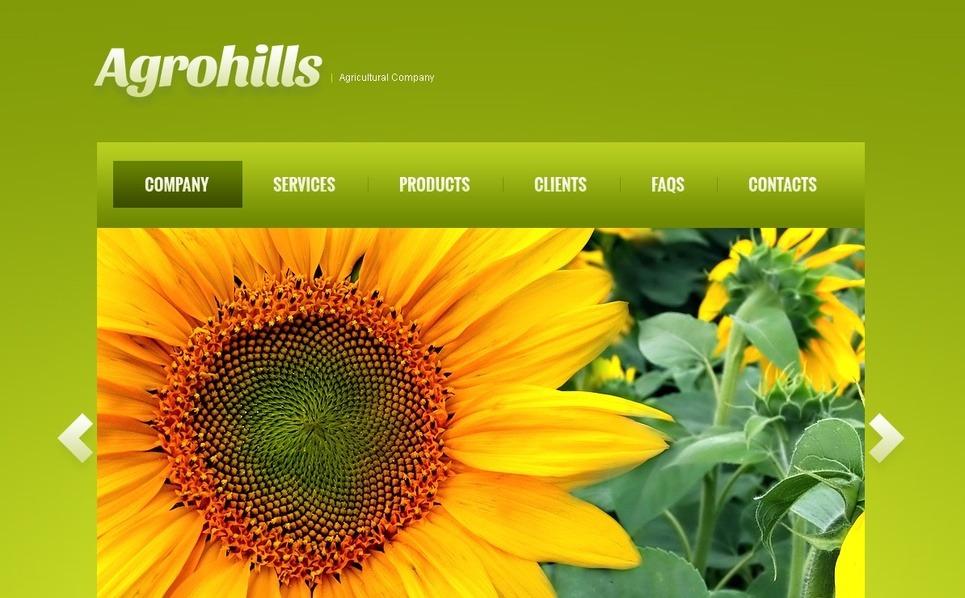 Plantilla Moto CMS HTML #41855 para Sitio de Agricultura New Screenshots BIG