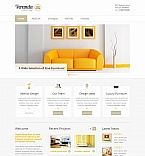 Furniture Moto CMS HTML  Template 41856