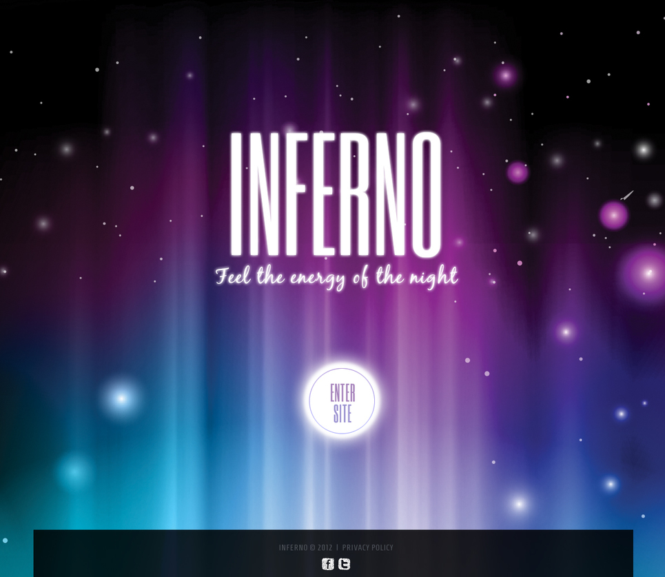 Night Club Website Template with Photo Gallery - image