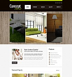 Furniture Moto CMS HTML  Template 41860
