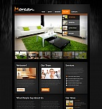 Furniture Moto CMS HTML  Template 41863