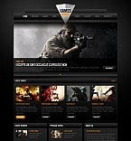 Games Moto CMS HTML  Template 41867