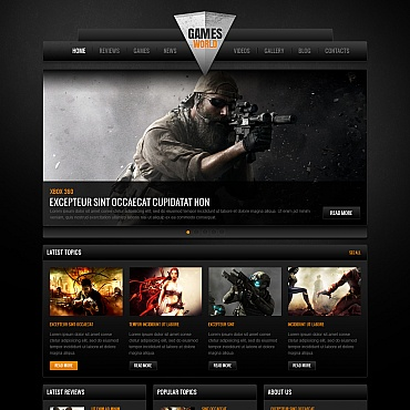 Games Web Templates | Website Templates