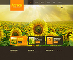 Agriculture Website  Template 41877