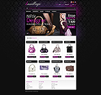 Fashion osCommerce  Template 41884