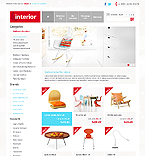 Furniture OpenCart  Template 41886