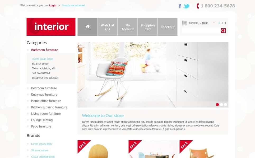 OpenCart Template over Interieur-design  New Screenshots BIG