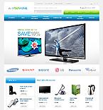 Electronics OpenCart  Template 41888