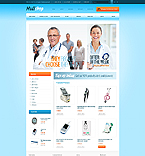 Medical OpenCart  Template 41890
