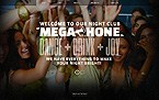 Night Club Website  Template 41893