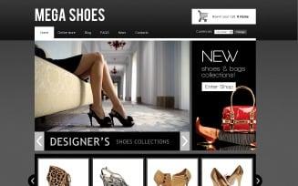 Mega Shoes VirtueMart Template