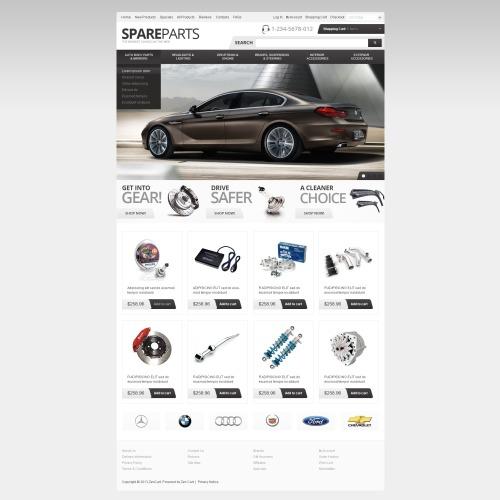 Spare Parts - ZenCart Template