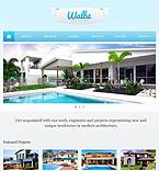 Architecture Website  Template 41919