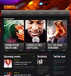Night Club Drupal  Template 41941