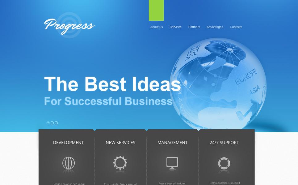 Template Moto CMS HTML para Sites de Business & Services №41942 New Screenshots BIG
