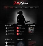 Music Moto CMS HTML  Template 41943