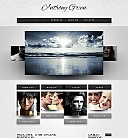 Art & Photography Moto CMS HTML  Template 41945