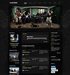 Music Moto CMS HTML  Template 41952