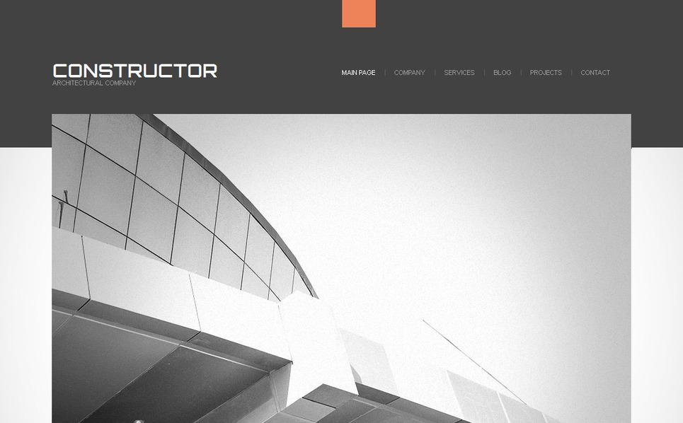 Template Moto CMS HTML  #41959 per Un Sito di Società di Costruzioni New Screenshots BIG
